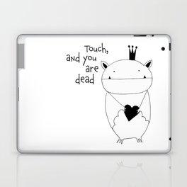 Scandinavian style bat illustration Laptop & iPad Skin