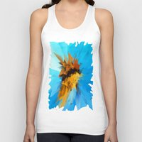butterfly Tank Tops featuring Butterfly by Paul Kimble