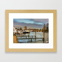 Henley on Thames Riverside Framed Art Print