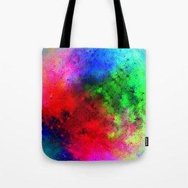 Explosive colors Tote Bag