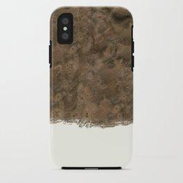 Dipped Wood - Walnut Burl iPhone Case