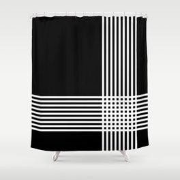 krizanje Shower Curtain