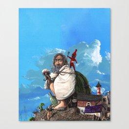 Noe's Canvas Print