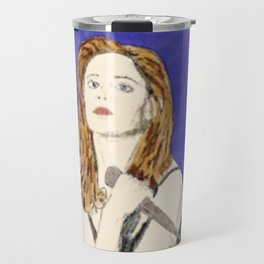 Buffy the Vampire Slayer - Watercolor Travel Mug