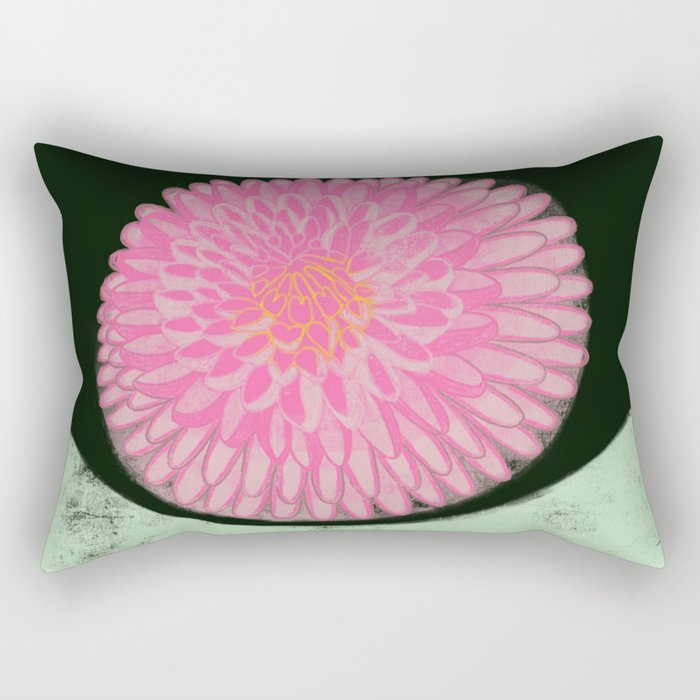 The Blossom of Peace Rectangular Pillow