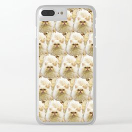 SVEN the flamepoint Himalayan Clear iPhone Case