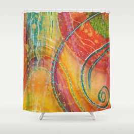FruitSalad Shower Curtain