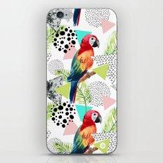 Tropical geometric 01 iPhone & iPod Skin