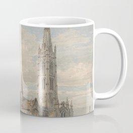 """J.M.W. Turner """"North East View of Grantham Church, Lincolnshire"""" Coffee Mug"""