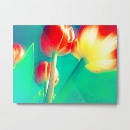 Power Tulips Metal Print