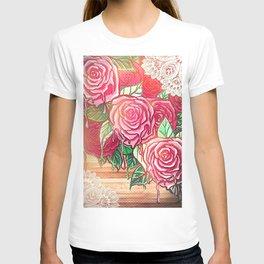 melting rose *flowersCollection* T-shirt