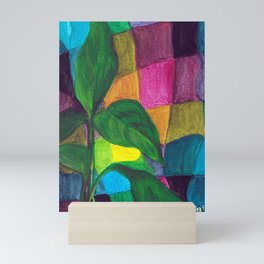 Callalily in wrapped in a scarf Mini Art Print