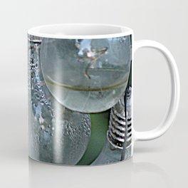 Rain on Light Bulbs Cluster Coffee Mug