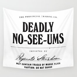 Deadly No-See-Ums Wall Tapestry