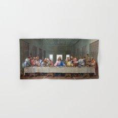 The Last Supper by Leonardo da Vinci Hand & Bath Towel