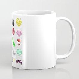 RWBY Emblems Coffee Mug