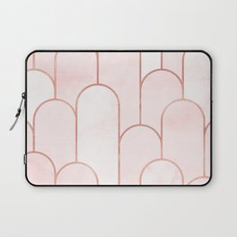 Arch Decor Red Laptop Sleeve