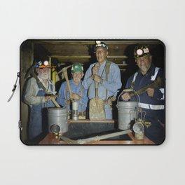 At the Trinidad Mining Museum in Trinidad Colorado old-timers Tom Hay Alex Gerardo Gerald Renner and Laptop Sleeve