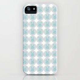 Rabbit Stamp iPhone Case