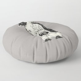 THE PENGUIN Floor Pillow