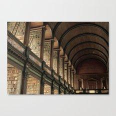 Long Room - Trinity College Dublin Canvas Print