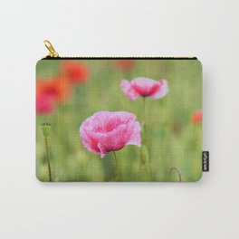 Poppy, Poppies, Mohn, Mohnblume, Flower, Blume, Blumen, Mohnblumen, Foto Carry-All Pouch