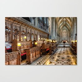 England Cathedral  Canvas Print