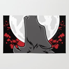 Howl at the Moon (Awoo) Rug