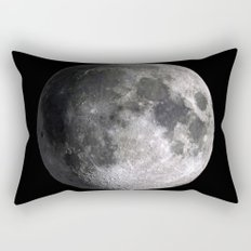 The Full Moon Super Detailed Print Rectangular Pillow