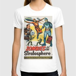 Vintage poster - Zombies of the Stratosphere T-shirt
