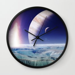 gAlaxY PLANET : Out of This World Wall Clock