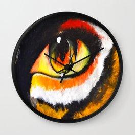 I of the Tiger Wall Clock