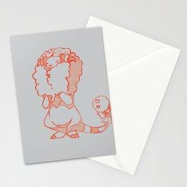 Shy Sheepy Stationery Cards