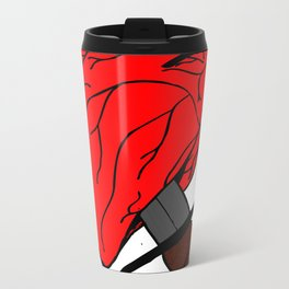 Dagger through the Heart Metal Travel Mug