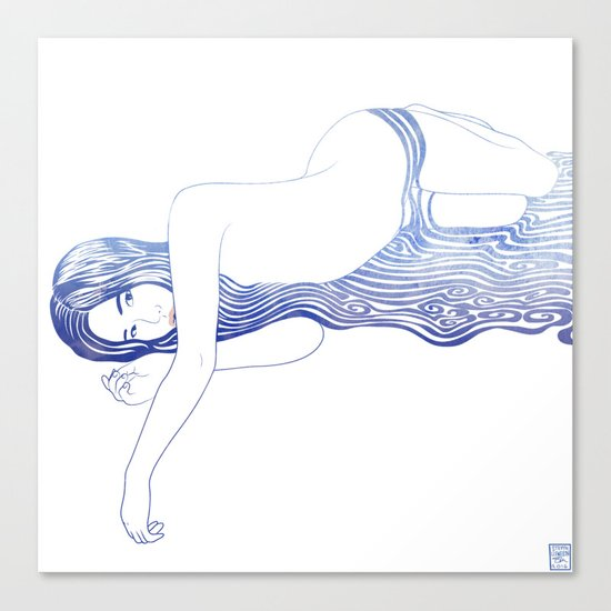 Water Nymph XXXV Canvas Print