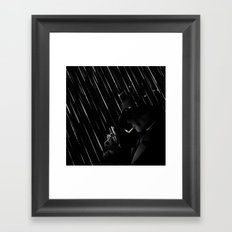 Rain Rain Go Away Framed Art Print