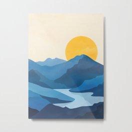 Minimalistic Landscape 10   Metal Print