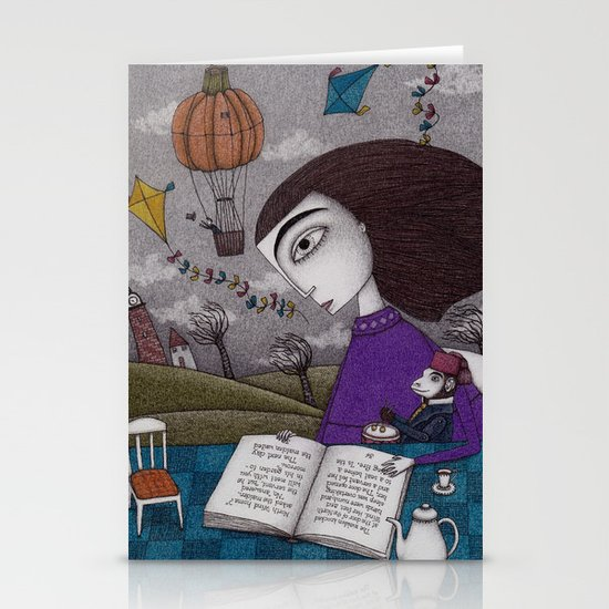 November Stories Stationery Cards