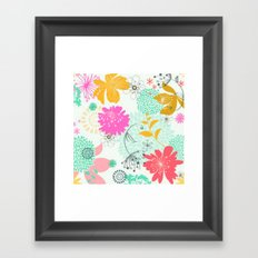 Floral vector pattern best idea Framed Art Print