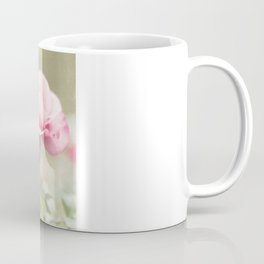Textured and Pastel roses (vintage flower photography) Coffee Mug