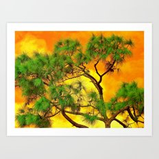 art-tificial Art Print