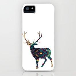 Deer abstract iPhone Case