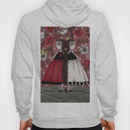 Snow-White and Rose-Red (1) Hoody