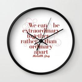 Extraordinary Wall Clock