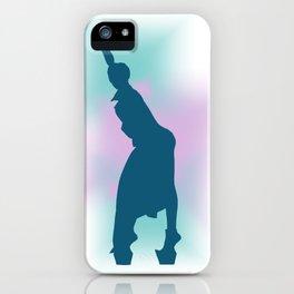 Gagahouette 1 iPhone Case