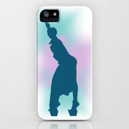 Gagahouette 1 iPhone Case