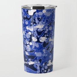 Los Lobos Locos Blue Travel Mug