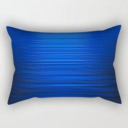 Sunset on the Water-Deep Blue Rectangular Pillow