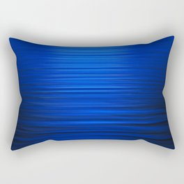 Sunset on the Water-Deep Blue Rectangular Pillow