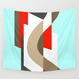 SUISSE - Art Deco Modern: SIXTIES OFFICE Wall Tapestry